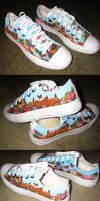 Pretty Odd Shoes by caitlinmuffin