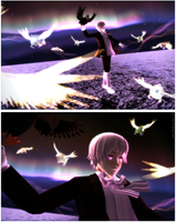 -MMD- Nothern Lights by Shebra-Evilver