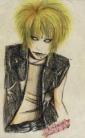 KYO in pencil by pinkmika