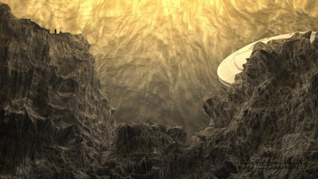 Under The Golden Mountain by innovation4d