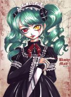 Bloody Maid by invisible-key