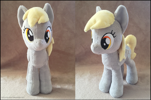 Derpy Hooves/Ditzy Doo Plush by AuburnBorbon