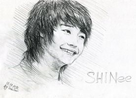 MinHo of SHINee by SakuTori