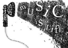 Music is Typography? by jamesy165