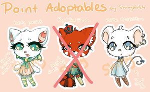 Animal Point Adoptables [Closed] :D by InsignificantYeti