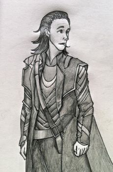 suddenly Loki by EoflinReed
