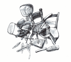 Composition of Chairs by BurntGlass