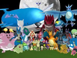My Pokemon Models Picture by hadafifi