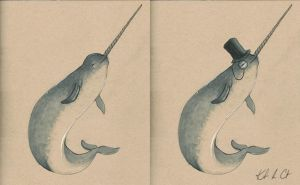 Narcissistic Narwhal by MyRobotBee