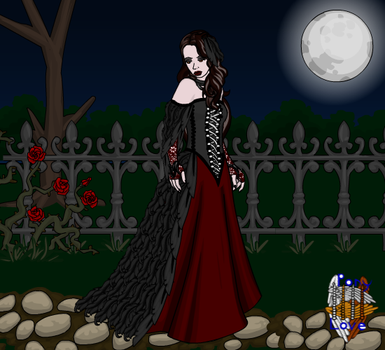 Gothic Dress by tamsinrj