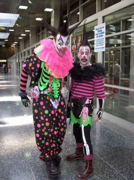 SCARY CLOWNS AT ACEN 2008 by nicksissy86
