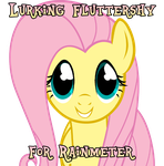 Lurking Fluttershy for Rainmeter by DonKoopa