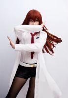 Steins Gate - Epic ultimate Kurisu pose! by Rei-Suzuki