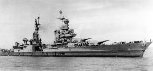 USS Indianapolis CA-35 Last Photo Before Sinking by DesertStormVet