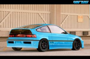 HONDA CRX by virus-tuner