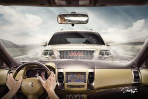 Peugeot vs GMC Advertising by JakeHays