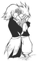 Riku and Sora again by marchhare