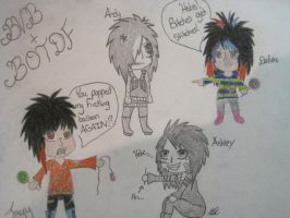 When Bvb and Botdf meet by Jamesstruble