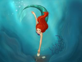 The Little Mermaid by Mouse-D-Misa
