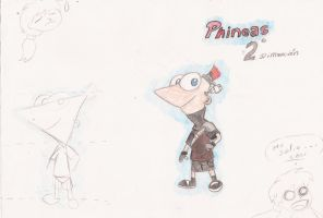 Phineas Flynn - 2D by tantei-fox03