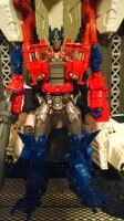 evasion mode optimus prime faceplate by Lilscotty