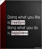 Freedom Vs Happiness by kodereaper