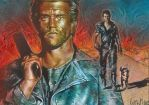 Mad Max - Double Sketch Card by JeffLafferty