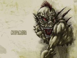 #31DaysOfMonsters Day19: Chupacabra by franciscomoxi
