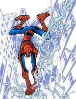 swinging spidey style by eldeivi