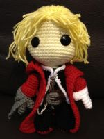 Ed Elric Sackboy by anjelicimp