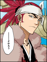 Renji Coloreado by Killua-Sama