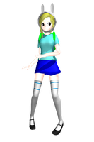 MMD Adventure Time Fionna  DL by 2234083174