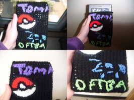 My Custom Kindle Cover by Ambrosial-Wolf