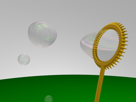 3D Bubble Blower by MDGraphs