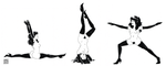 femlins doing yoga by characterundefined