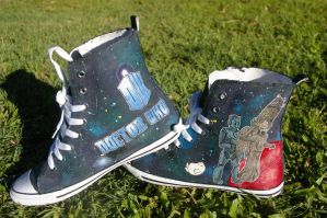 Doctor Who Shoes Mark 2b by DemoiselleDreamer