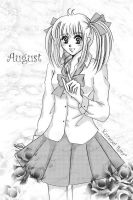 August :: Shoujo Style by KurenaiRara