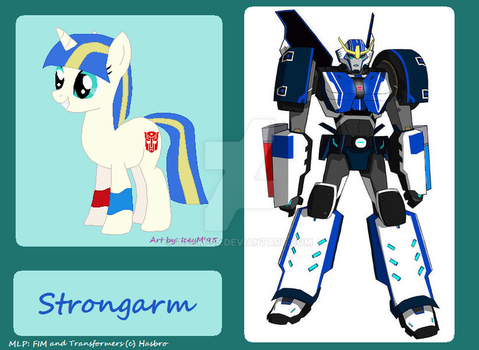 Pony Strongarm by IceyM-95