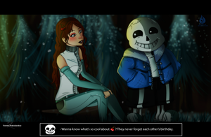 Sans and Miss Cherries by Venetia-TH