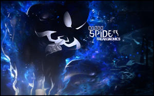 Black Spider by rafdesigns