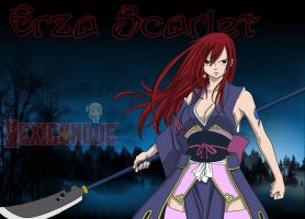 Erza Scarlet Coloreado by Mexicanode