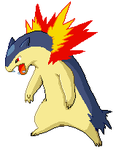 Typhlosion Pixel Over by MissPiika