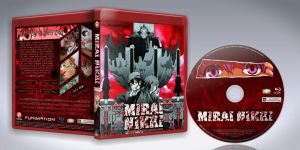 Mirai Nikki BluRay Cover + Label by Pharuk