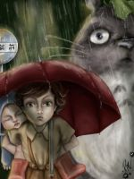 Totoro - That Awkward Moment When... by goodgirl-arcee