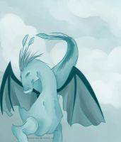 Dragon of the Clouds by LesserArcana