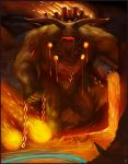 Fire Colossus Going for Rift by Davesrightmind