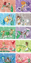Zodiac Flowers and Birthstones Calender by Akumabaka