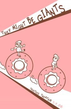 they might be giants poster by sirkibble
