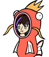 .:AT:. Venice in a Magikarp suit by ArtAquatic
