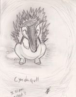 Charcoal Cyndaquil 5/10/2013 by Jacklave